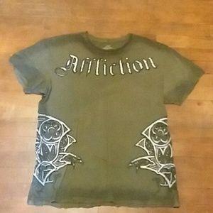 Affliction mens large t-Shirt